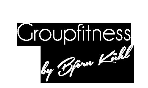 Schriftzug groupfitness - Groupfitness